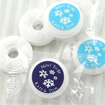 Winter Silhouette Personalized Life Savers Mints