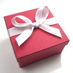 Asian Red Wedding Favor Box