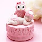 Baby Girl Shower Owl Favors