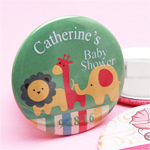 Baby Shower Personalized Button