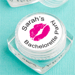 Bachelorette Personalized Lip Balm Favor
