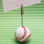 Baseball Photo or Place Card Holder