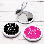 Best Day Ever Personalized Compact Mirror