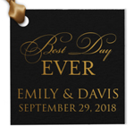 Best Day Ever Personalized Hang Tags