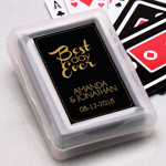Best Day Ever Personalized Playing Cards