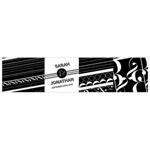 Black and White Favor Box Wrap