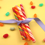 Candy Stick Favors - 50 pcs