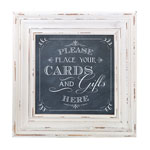 Cards Sign Frame (Chalk Style)