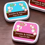 Cherry Blossom Tree Personalized Mint Tins