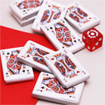 Chocolate Mint Truffle Playing Cards - 1 lb