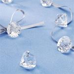 Diamond Favor Charms - 135 pcs