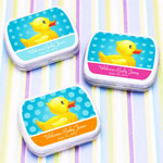 Ducky Personalized Mint Tins