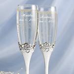 Fairytale Wedding Toasting Flutes