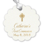 First Communion Personalized Hang Tags