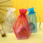 Flat Bottom Organza Favor Bags - 10 pcs