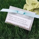 Flower Seeds Wedding Favor