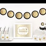 Gold & Glitter Twinkle Twinkle Party Kit