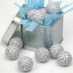 Mini Chocolate Golf Balls - 1 lb