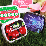 Holiday Personalized Mint Tins