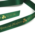 Irish Personalized Ribbons