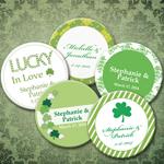 Irish Personalized Stickers - 20 pcs