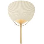 Ivory Paddle Fan
