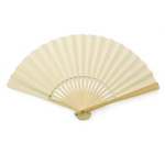 Ivory Paper Hand Fans