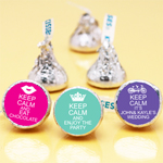 Keep Calm Personalized Personalized Hershey's Kisses