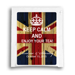 Keep Calm Personalized Tea Bag Favor