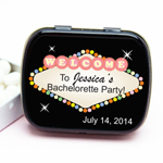 Vegas Bachelorette Personalized Mint Tins