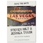 Getting Married in Vegas Save the Date Magnets - 20 pcs