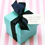 Linen Wedding Favor Box Kit - set of 20