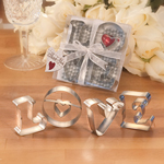 Love Cookie Cutter Favors