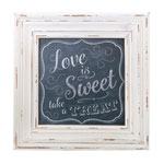 Love is Sweet Sign Frame (Chalk Style)