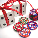Lucky Casino Chocolate Coin Favors