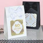 Metallic Foil Birthday Sweet Shoppe Candy Boxes - (Set of 12)