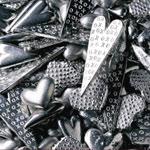 Mixed Hearts Pocket Tokens - 50 pcs