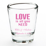 Musical Personalized Shot Glass