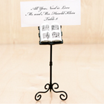 Musical Stand Place Card Holders