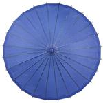 Navy Blue Paper Parasol