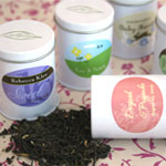 Mini Personalized Wedding Favor Tea Tins