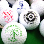 Personalized Golf Balls with Designs