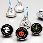 Personalized Halloween Hershey's Kisses