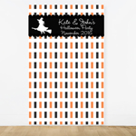 Personalized Halloween Photo Booth Backdrop