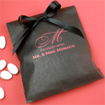 Personalized Lined Party Favor Bags