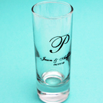 Personalized Shooters Glass