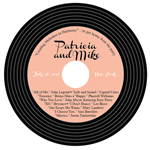 Personalized Vintage Record Vinyl Style CD Labels - 12 pieces