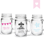 Personalized Mason Jar Drinking Glass - Exclusive