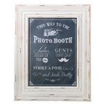 Photo Booth Sign Frame (Chalk Style)