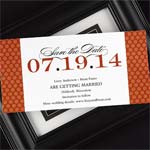 Contemporary Dots Save the Date Cards - 25 pcs